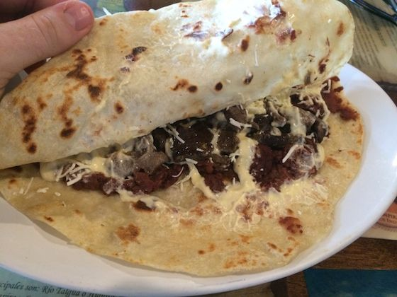 "The Honduran Baleada - How to make a ""REAL"" Honduras Baleada 