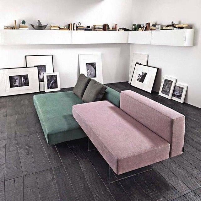 Choose colours and the setting of modules for a personalized living | Air sofa | #lagodesign #interiordesign #living #sofa