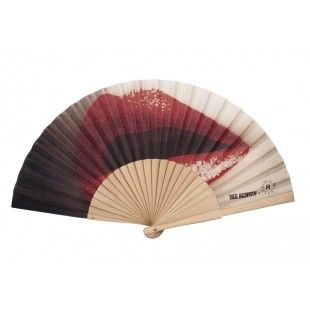 Lips hand-fan, Inge Jacobsen x Duvelleroy Eventail Lips