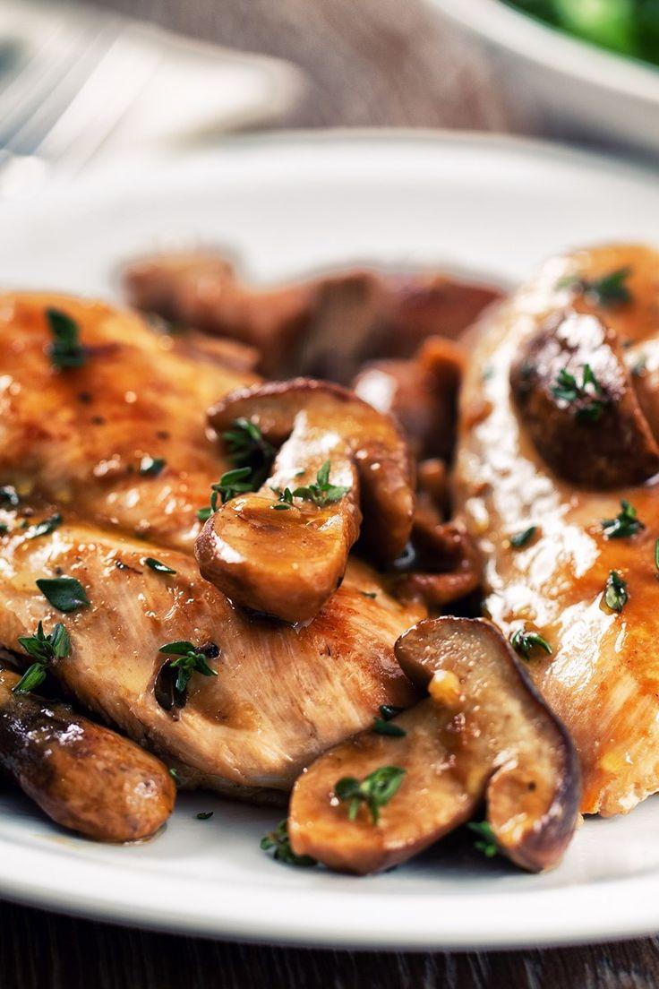 Skinny Chicken Marsala Recipe