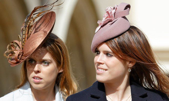 March 2016: The sisters spent Easter weekend with their family, accompanying their father, Prince Andrew, and their grandmother, Queen Elizabeth, to the Easter Sunday service at Windsor Castle.  Photo: Getty Images