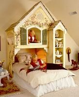 Bunkbeds  SO CRAFTY!: Girls Bedrooms, Bunk Beds, Dreams Beds, Playhouses Beds, Princesses Beds, Little Girls Rooms, Loft Beds, Little Princesses, Kids Rooms