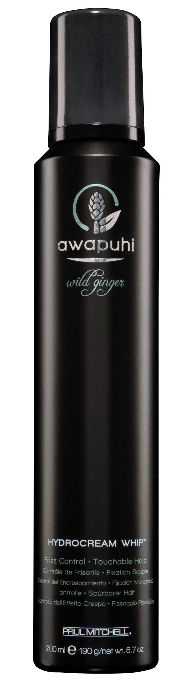 HydroCream Whip®, mousse anticrespo idratante. Dona una tenuta naturale e volume rendendo i capelli setosi e morbidi al tatto