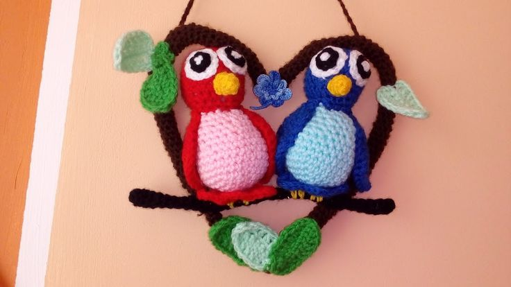 Papużki Nierozłaczki- Amigurumi DIY