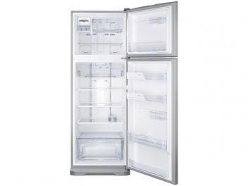 electrolux frost free inox duplex 463l painel blue touch tf52x