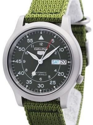 Seiko 5 Military Automatic Nylon SNK805K2 Mens Watch