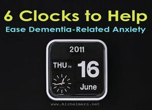 Losing track of dates and time is an early sign of Alzheimer's. The following clocks are specifically designed to help ease dementia anxiety. Learn more.