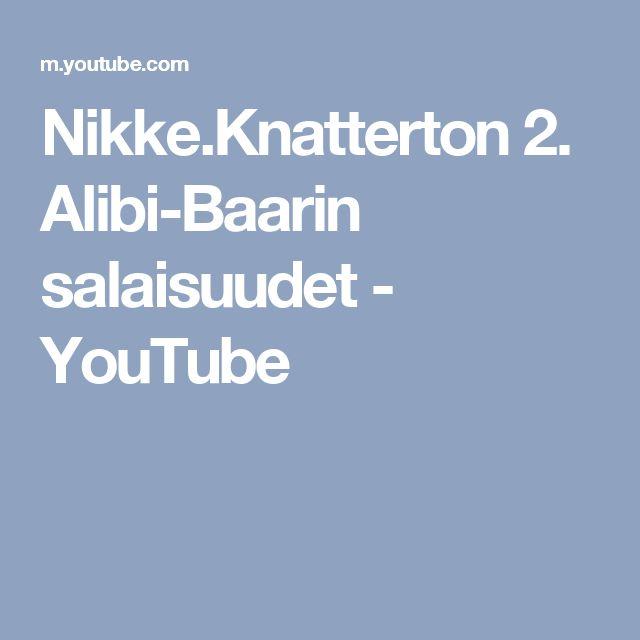 Nikke.Knatterton 2. Alibi-Baarin salaisuudet - YouTube