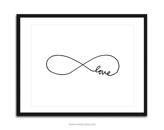 Endless Love  16x20 inch Poster on A2 in Crisp by theloveshop, $57.00