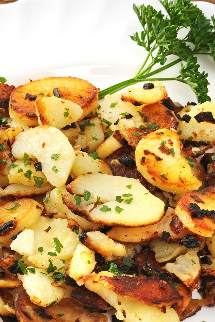 Skillet Potatoes with Onions (Weight Watchers)