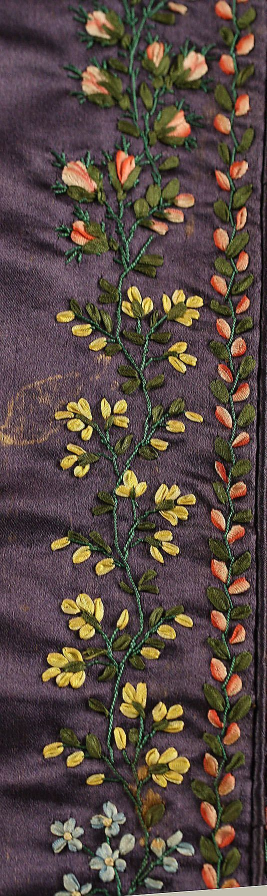 pereline 1830 | Pelerine Date: ca. 1830 Culture: British Medium: silk. Detail