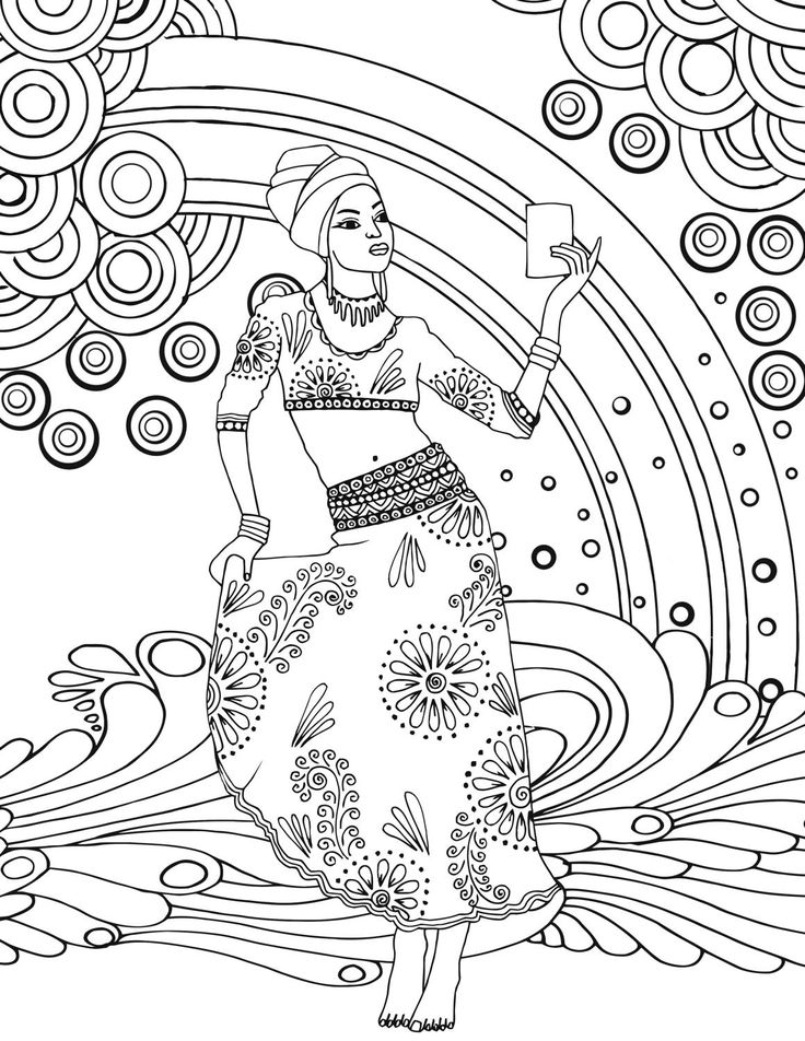 131 best Africa Coloring pages images on Pinterest Draw