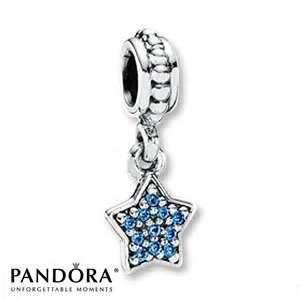 7fd436bba ... Dangle blue star pave charm Pandora City Creek pandoracitycreek pandora  charms Authentic ...