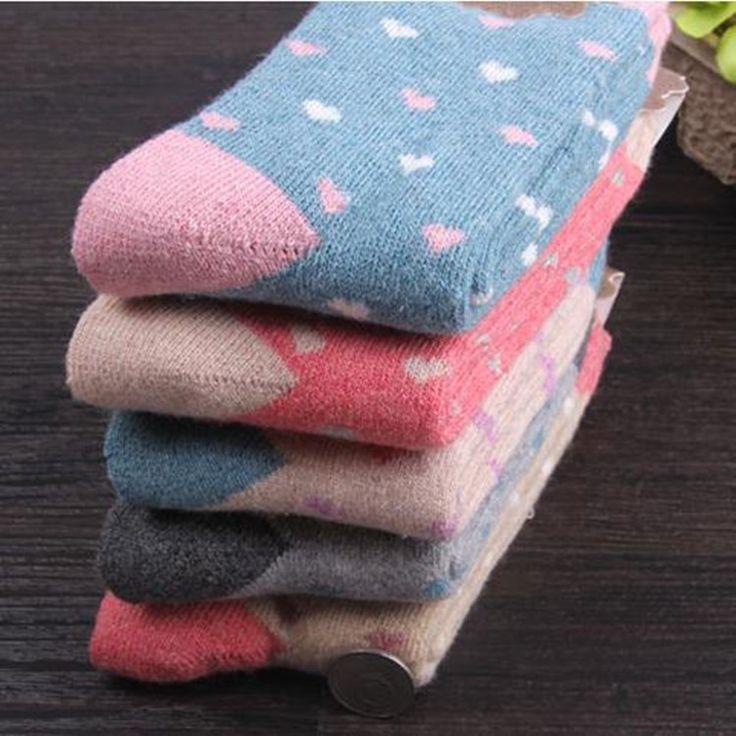 10Pairs/Lot new women socks fashion rabbit wool socks terry socks upscale towel socks warm winter cashmere socks