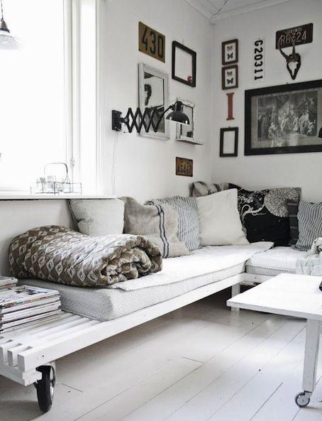 Different DIY Pallets Home Furniture | Pallets Furniture Designs