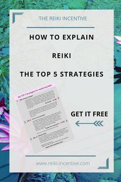 How to explain reiki