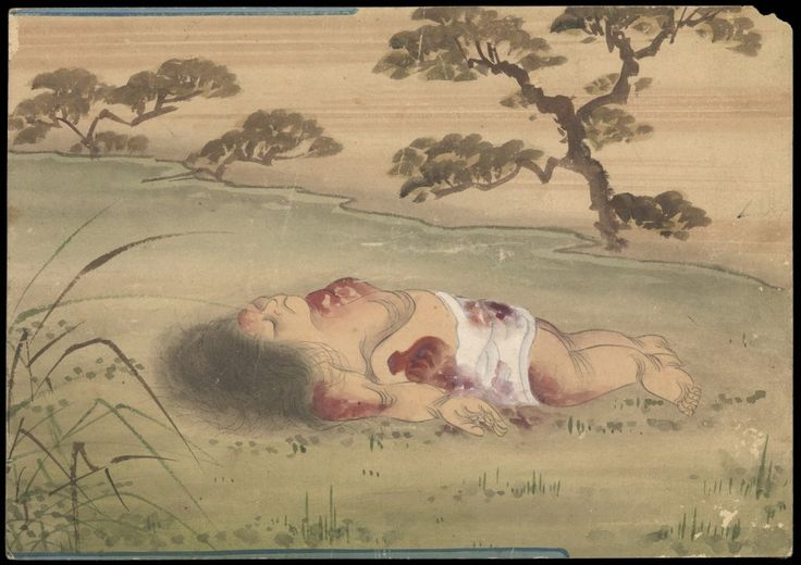 Kusozu: the death of a noble lady and the decay of her body-1