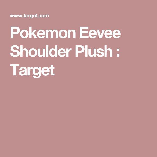 Pokemon Eevee Shoulder Plush : Target
