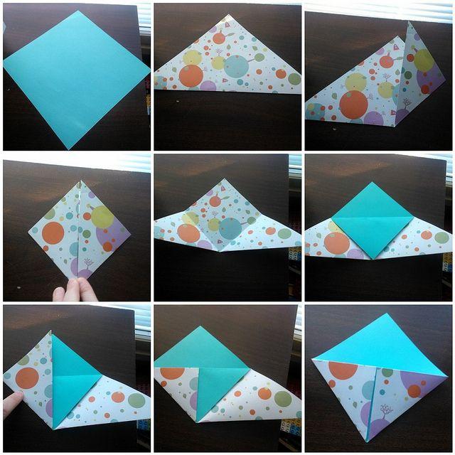 origami bookmark