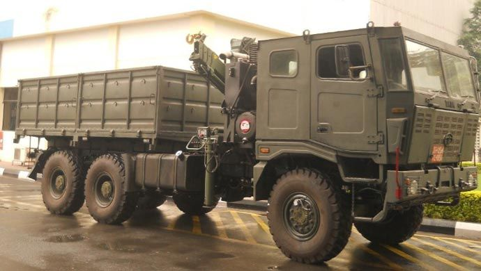 Automobile manufacturer Tata Motors has bagged an order from the Indian Army to supply around 1200 of its high-mobility 6X6 multi-axle trucks, from the Indian Army. This is the single largest order awarded to an Indian private OEM (Original Equipment Manufacturers) in land systems under the DPP by the Indian army.