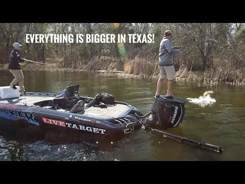 Everything is Bigger in TEXAS - Lake Monticello Texas Pt.2 SMC 13:13 - (More info on: https://1-W-W.COM/fishing/everything-is-bigger-in-texas-lake-monticello-texas-pt-2-smc-1313/)
