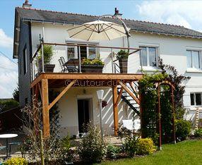10 meilleures id es propos de terrasse suspendue sur pinterest balcons terrasse et vivre au. Black Bedroom Furniture Sets. Home Design Ideas