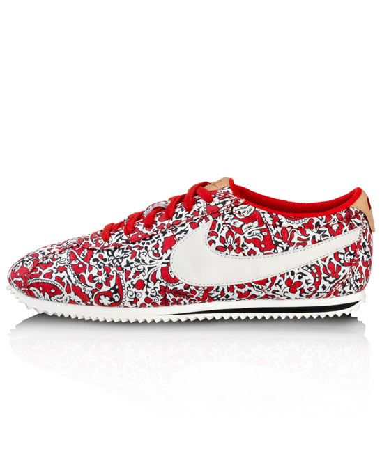 NIKE X LIBERTY SPORT RED LIBERTY PRINT CORTEZ TRAINERS,