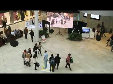 Live Augmented Reality for National Geographic Channel UPC - YouTube