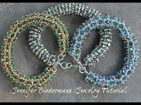 tubular netted bracelet ~ Seed Bead Tutorials