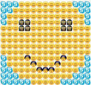 Skype smileys