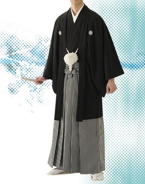 新郎の紋付袴。両家顔合わせ・結納のときの和服・和装のアイデアまとめ一覧。