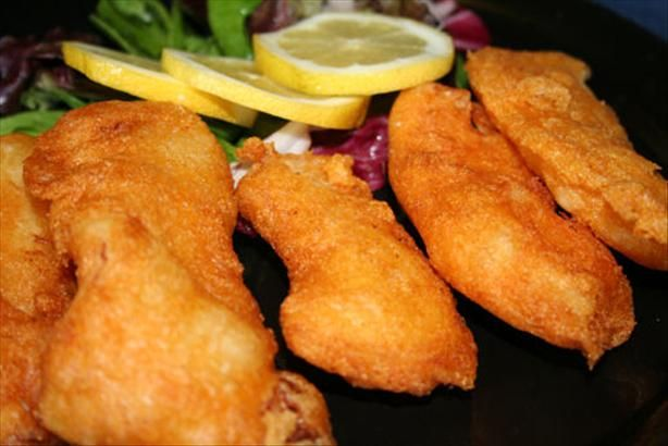 Crappie Fish Fry from Food.com:   								For those of you living in the Midwest and lucky enough to snag those delicious crappie fish, here's a recipe that will do justice to those wonderful little fellas!