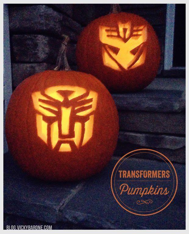 Transformers Pumpkins Creative Pumpkins And Creative