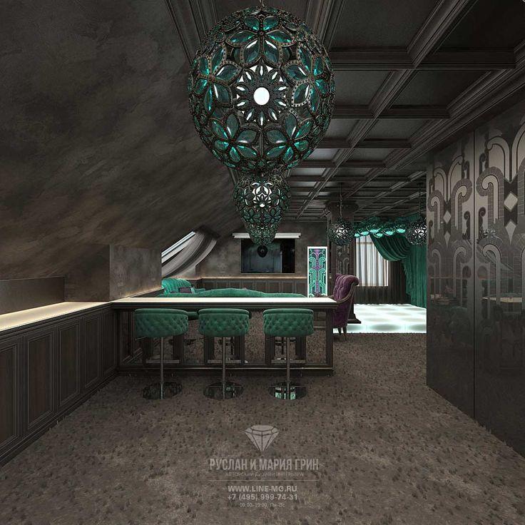 ДИЗАЙН ИНТЕРЬЕРА ЛАУНЖ-ЗОНЫ НА МАНСАРДЕ http://www.line-mg.ru/dizayn-doma-s-mansardoy-vnutri-foto