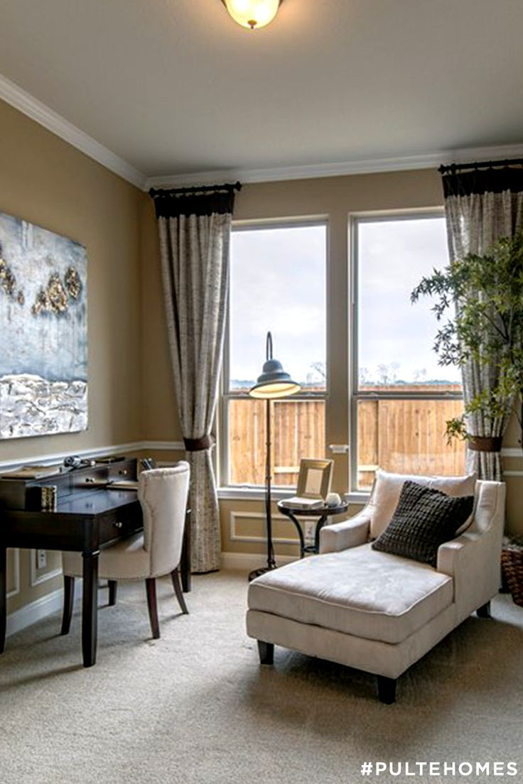 Pulte Owner 39 S Retreat Is A Leisure Space Off The Bedroom