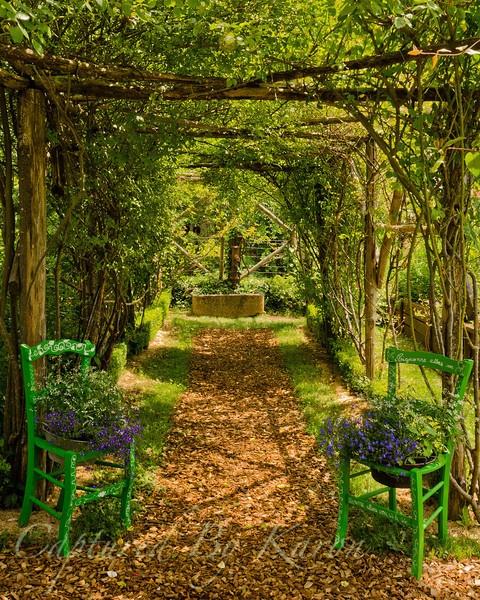 Entrance To The Secret Garden Portland Oregon