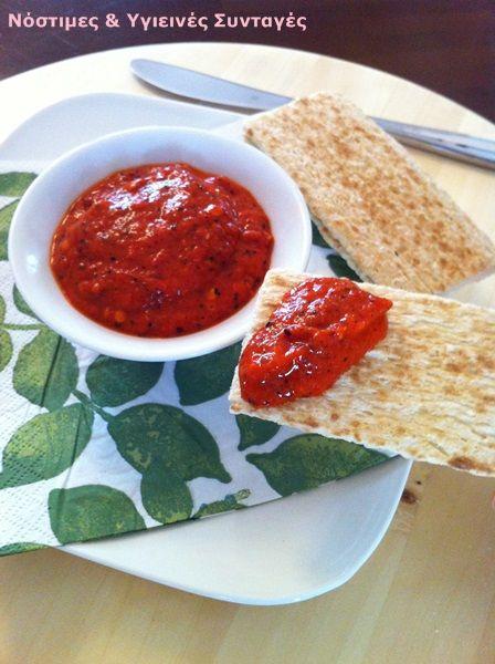 Οι πιπεριές Φλωρίνης  βρίσκονται στις πρώτες θέσεις στη λίστα με τα αγαπημένα μου λαχανικά. Το συγκεκριμένο ντιπ το φτιάχνω εδώ και πάρα πο...