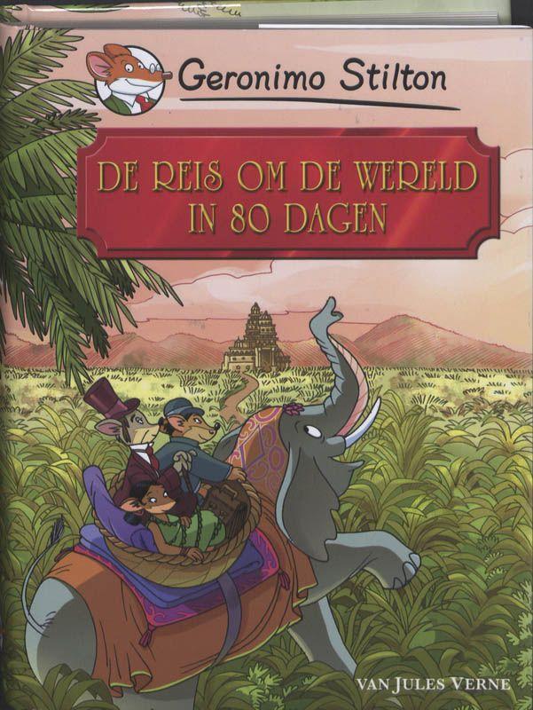 De reis om de wereld in 80 dagen (geschreven door Jules Verne) is een geweldig avontuur dat begint in Londen. Daar wedt Phileas Fogg, een gentlemuis, met zijn beste vrienden dat hij in 80 dagen om de wereld kan reizen. Het verhaal speelt in 1872, dus er bestonden nog geen vliegtuigen en supersnelle treinen! Vandaar dat niemand gelooft dat het hem zal lukken. Phileas gaat op weg met zijn bediende Passepartout...