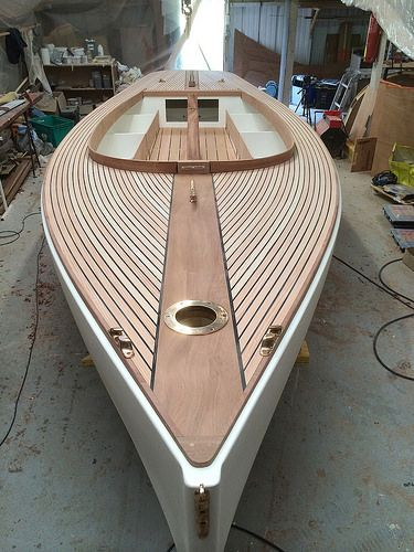 A 21' South Bay Catboat By William & John Atkin, made in france - Page 5