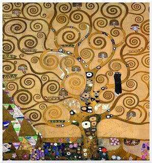PERSONA E COMUNITA'.:Gustav Kilimt, L'albero della vita, particolare.