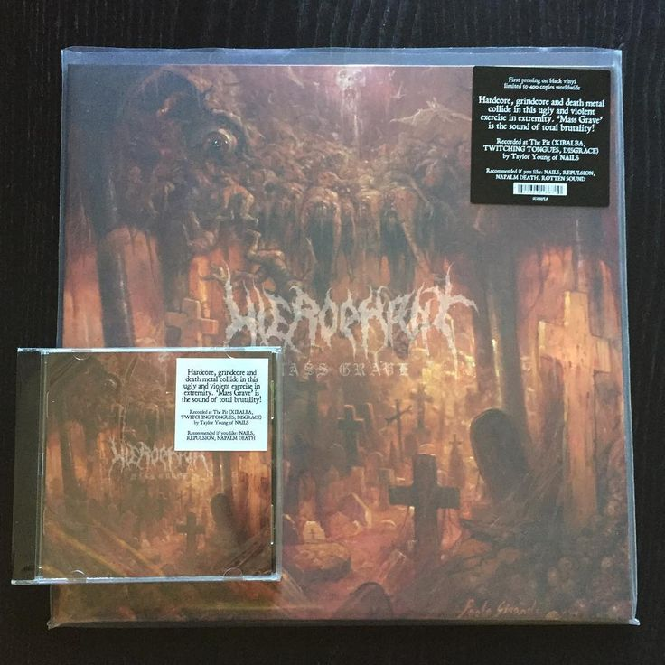 "ON SALE! Hierophant ""Mass Grave"" (2016 Season Of Mist) CD 11,90€/LP 17,90€ www.everlastingspew.com  HIEROPHANT's new album 'Mass Grave' is as bleak and ugly as the title that adorns it. A dark and violent exercise in total extremity at the crossroads where hardcore, grindcore and death metal collide, 'Mass Grave' is the sound of a dystopic society marching to its end. Recorded at The Pit (NAILS, XIBALBA, TWITCHING TONGUES, DISGRACE) by Taylor Young (NAILS), and featuring stunning artwork…"