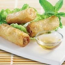 Nems - Façon Senegalaise - rice paper fried rolls - Senegalese style