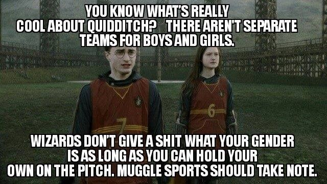Take note Muggles!