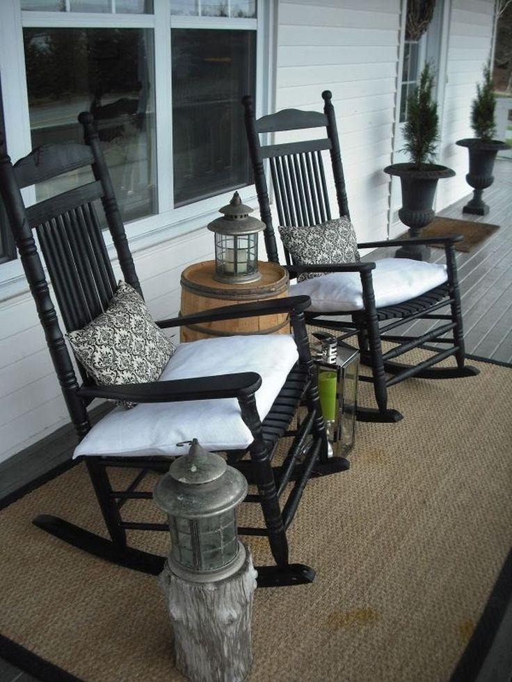 47 Stylish Diy Farmhouse Front Porch Decoration Ideas