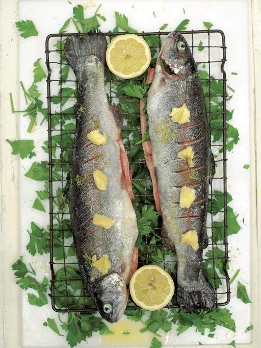 grandad kens crispy grilled trout with parsley & lemon | Jamie Oliver | Food | Jamie Oliver (UK)