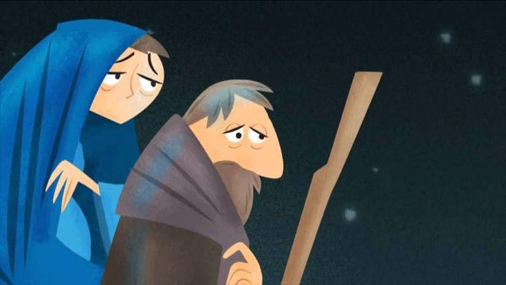 Een kort peuter/kleuter verhaal over de geboorte van Jesus (3.10).