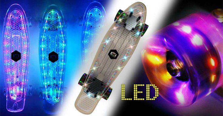 CALI Strong LED Light Skateboards & LED Light Wheels - CALI Strong Skateboarding