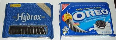 Which did you prefer?  I would always get the Hydrox cookies when given the chance.