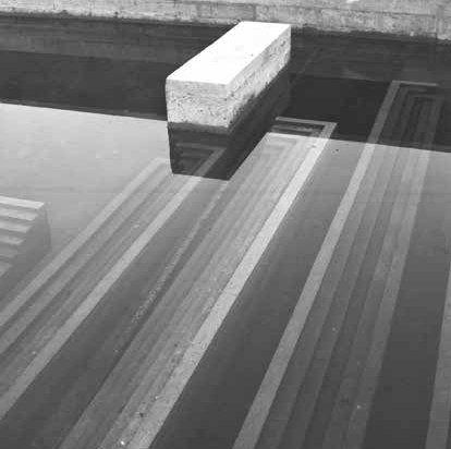 Tomba Brion. 1969-78. San Vito d'Altivole, Treviso, Italy. Carlo Scarpa