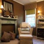 Уютный уголок в сафари-комнате